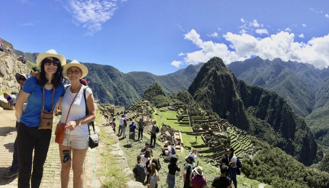 Pia i Machu Picchu