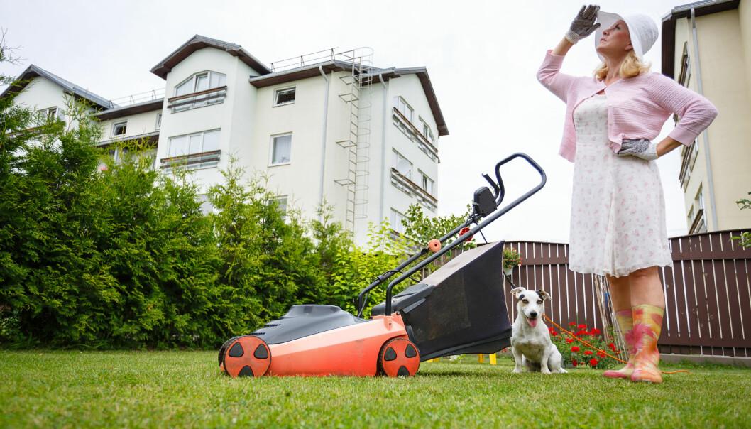 Elgräsklippare är bra för miljön och enkla att använda.