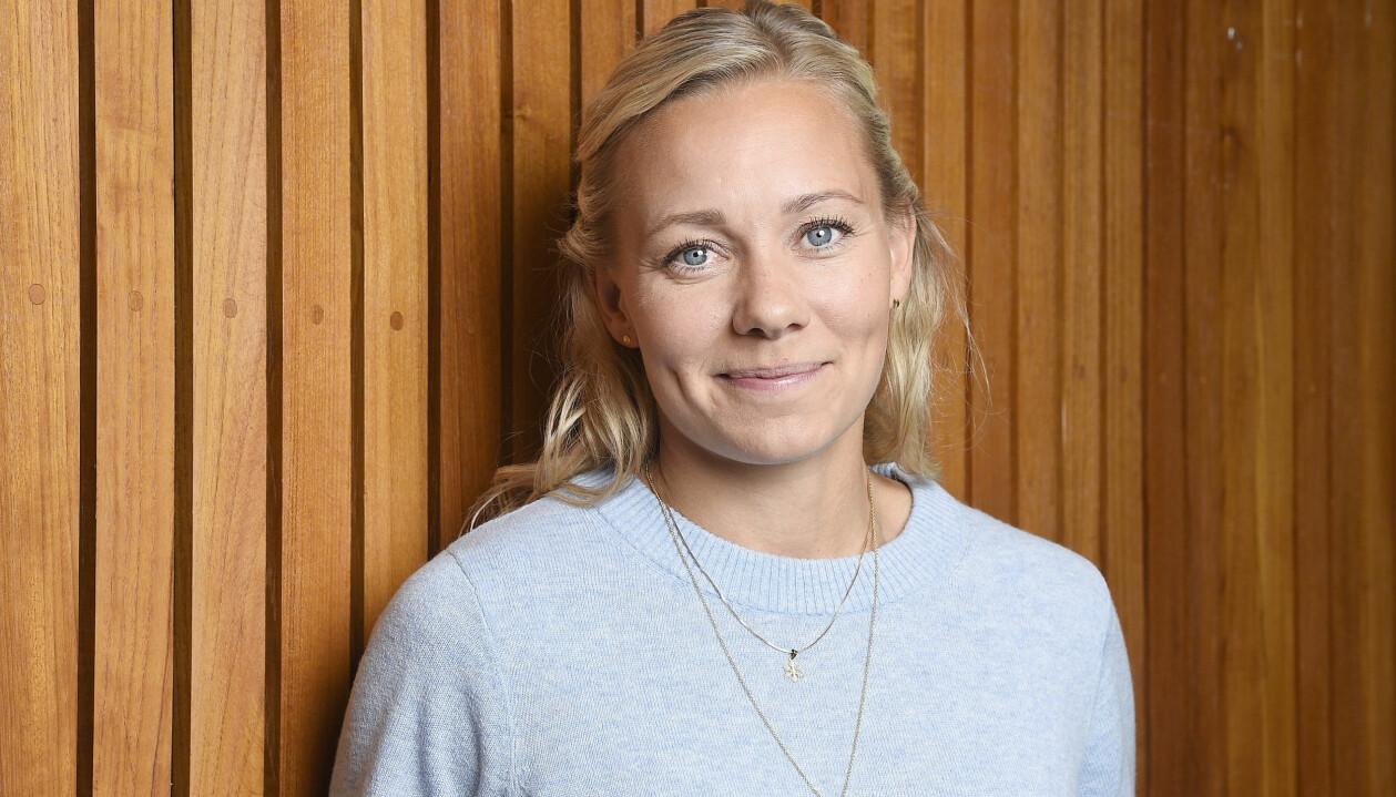 Frida Hansdotter fotograferad i samband med presentationen av deltagarna i Mästarnas mästare 2020.