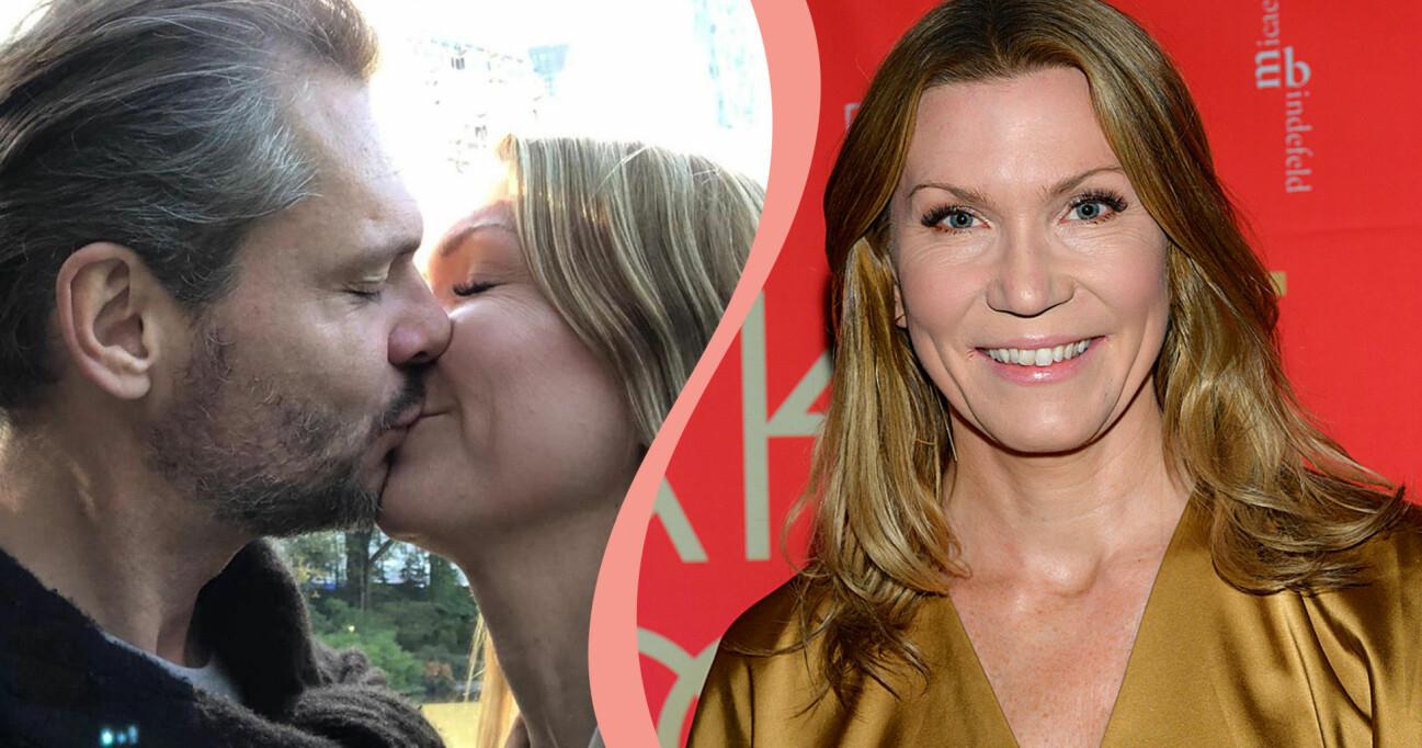 Jenny Alversjö och pojkvännen Anders.