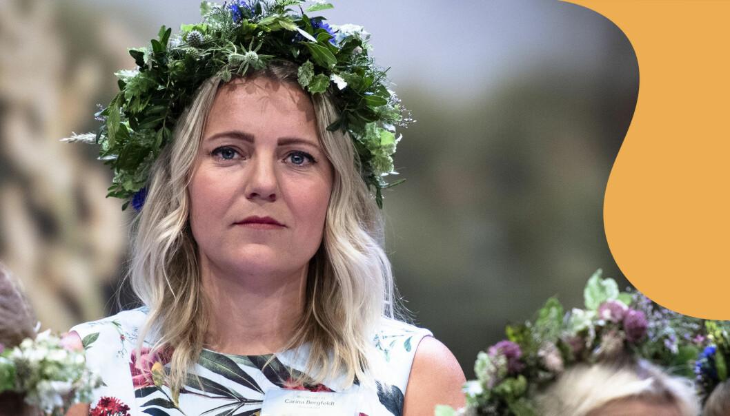 Carina Bergfeldt presenteras som sommarpratare i P1 2019.