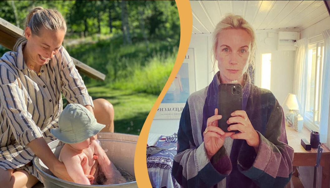 Carina Berg och Jenny Strömstedt