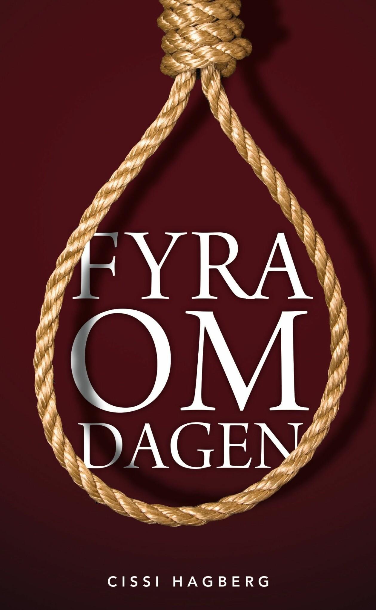 Omslaget till boken Fyra om dagen av Cissi Hagberg,