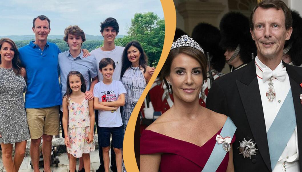 Prins Joachim med familj