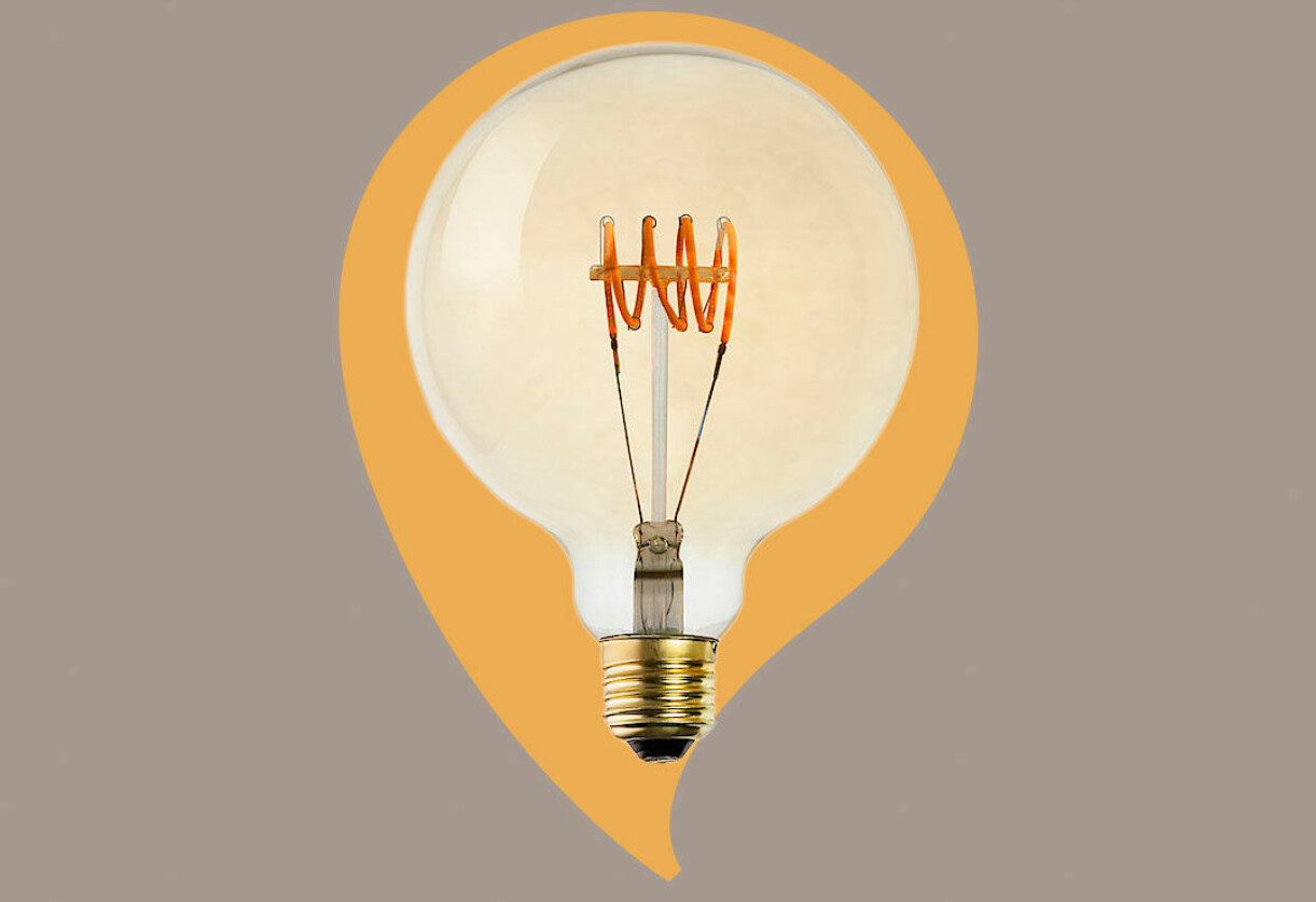 dimbar dekorationslampa clas ohlson