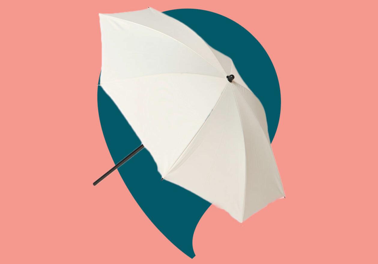 Parasoll för hemmasemestern