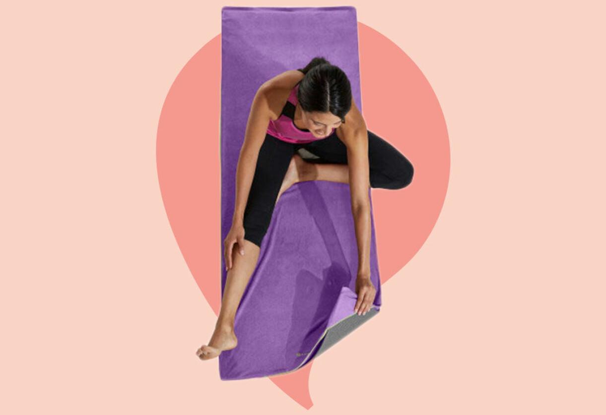 Yogamatthandduk till hemmagymmet