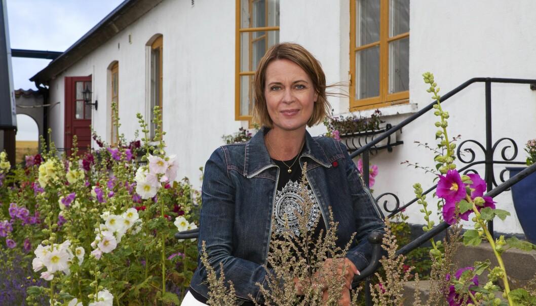 Inger Ljung Olsson i Hammenhög.