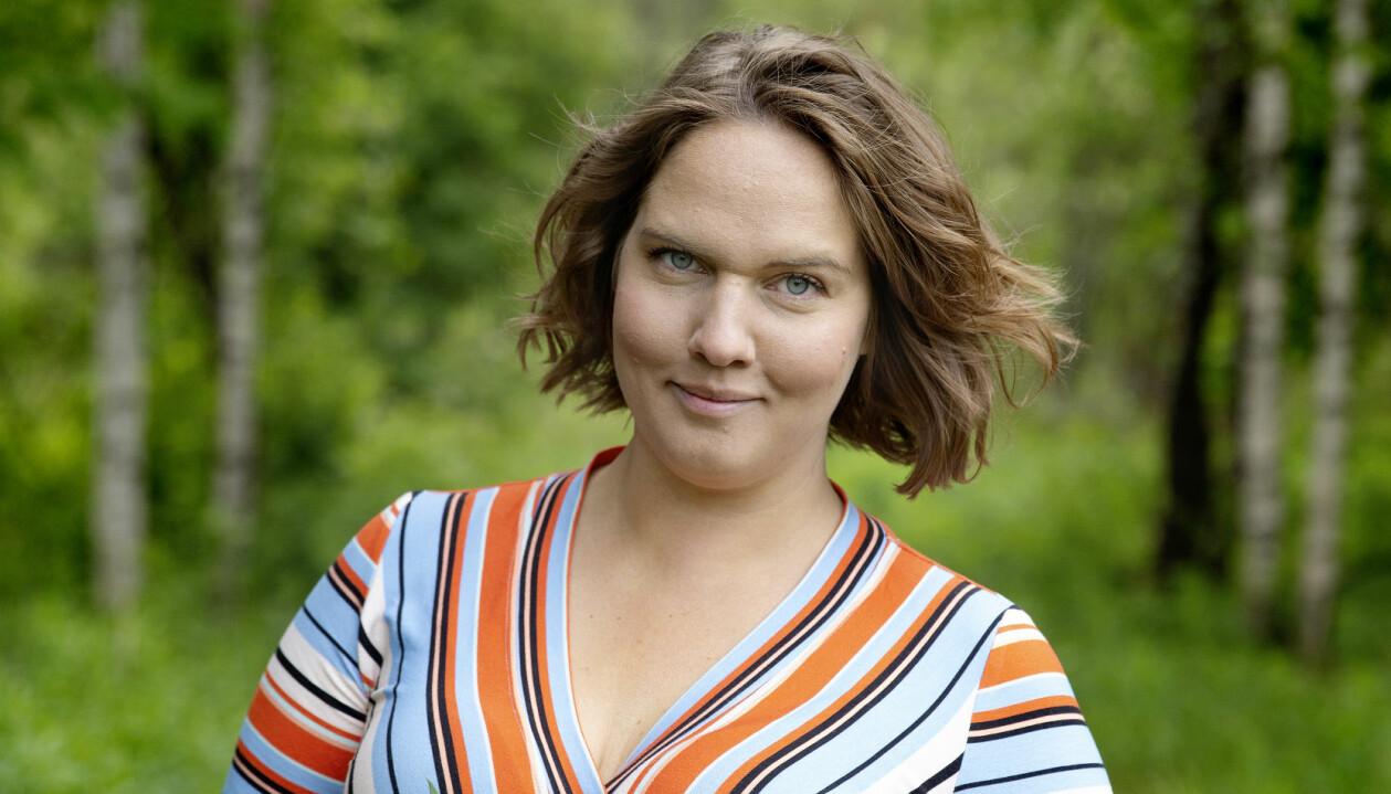 Underbara Clara i skog i Umeå.