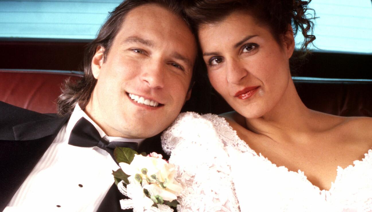 Huvudpersonerna i Mitt Stora Feta Grekiska bröllop.