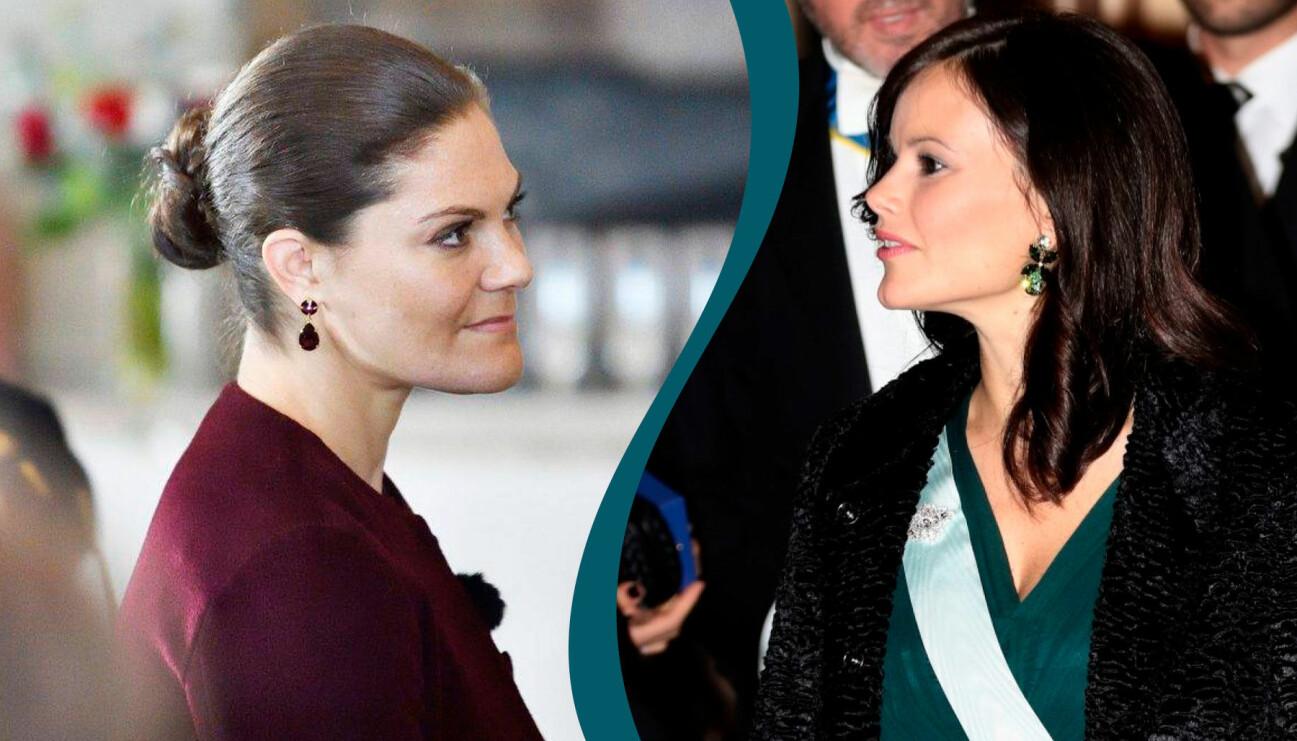 Kronprinsessan Victoria och prinsessan Sofia