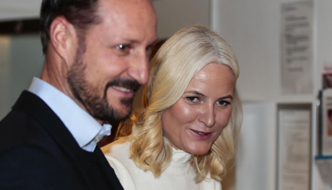 Haakon och kronprinsessan Mette-Marit.