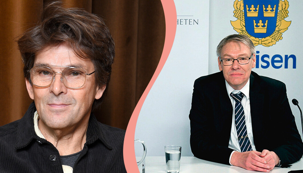 Niklas Strömstedt och Krister Petersson