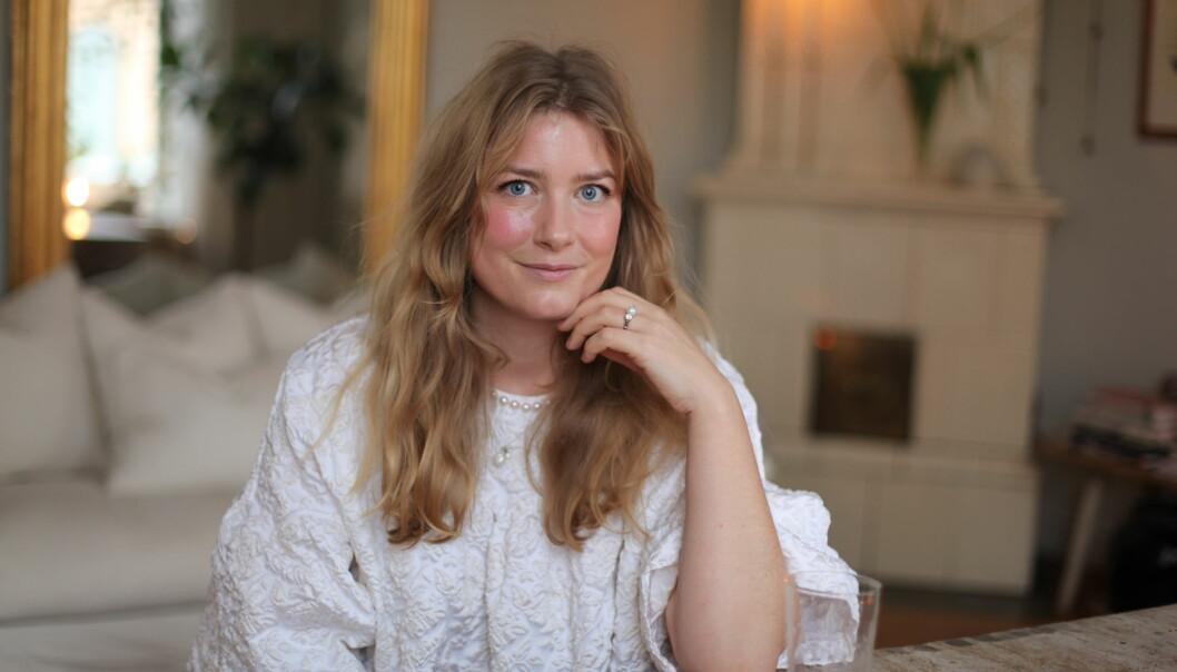 Elsa Billgren är aktuell med boken Elsas husdröm.