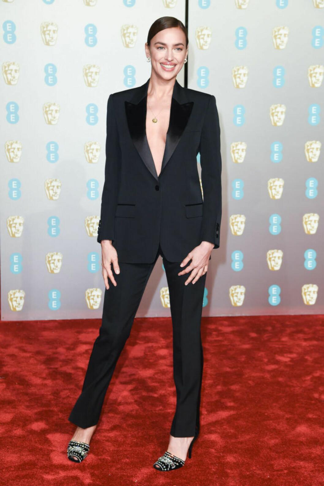 Irina Shayk på BAFTA 2019