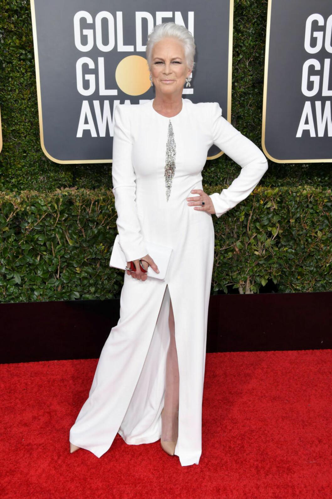 Jamie Lee Curtis Golden Globe 2019