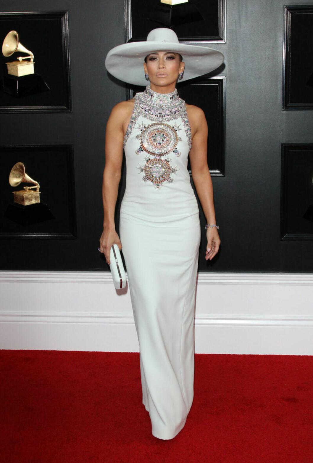 Jennifer Lopez på Grammy Awards 2019