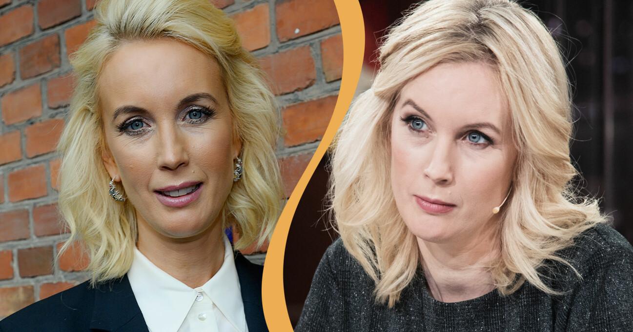 Porträtt av Jenny Strömstedt programledare för bland annat Nyhetsmorgon.