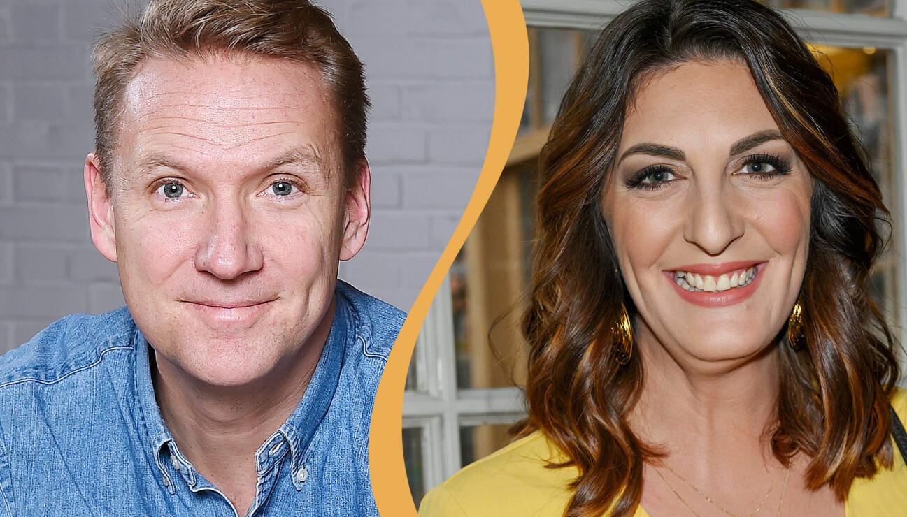 Kollage av tv-profilerna Jesper Börjesson och Soraya Lavasani.
