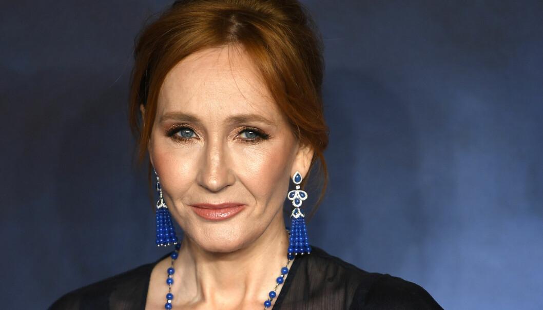 Porträtt av författaren JK Rowling