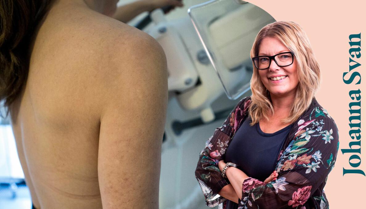 Att gå på mammografi känns inte alltid bekvämt.