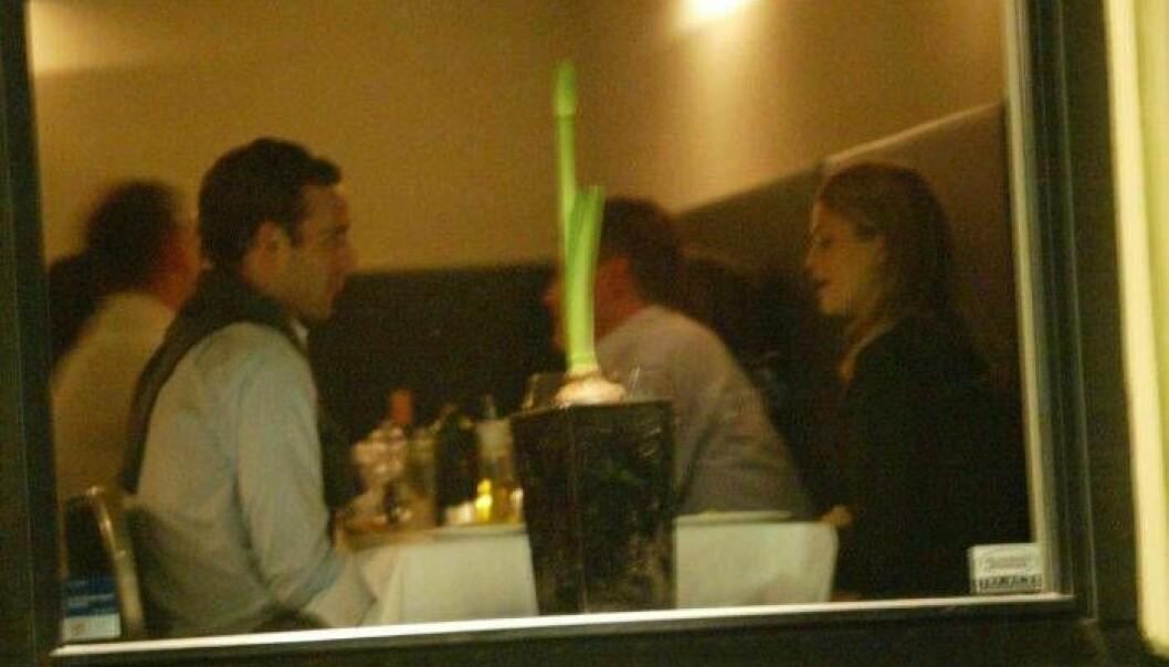 Jonas och Madeleine på dejt 2002.