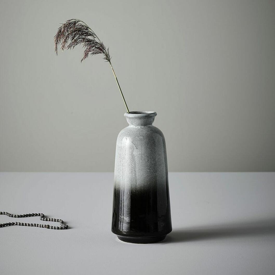 Handgjord vas från Jotex