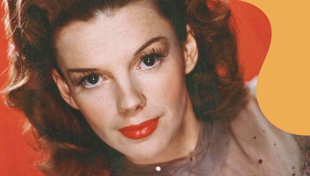 Porträtt av Hollywoodstjärnan Judy Garland vars liv nu blir film med Renée Zellwegger i huvudrollen.