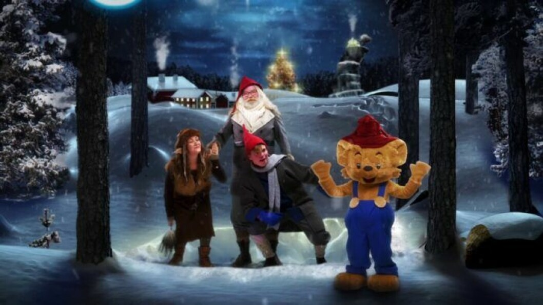 jul med Bamse