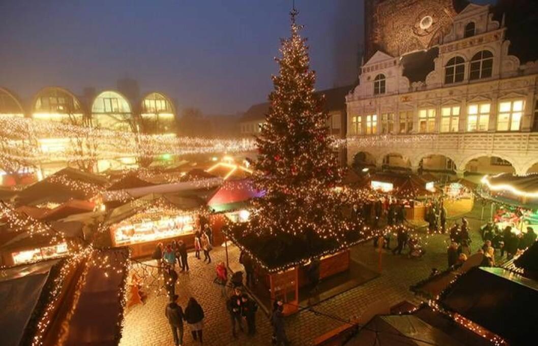 Julmarknad i Lübeck