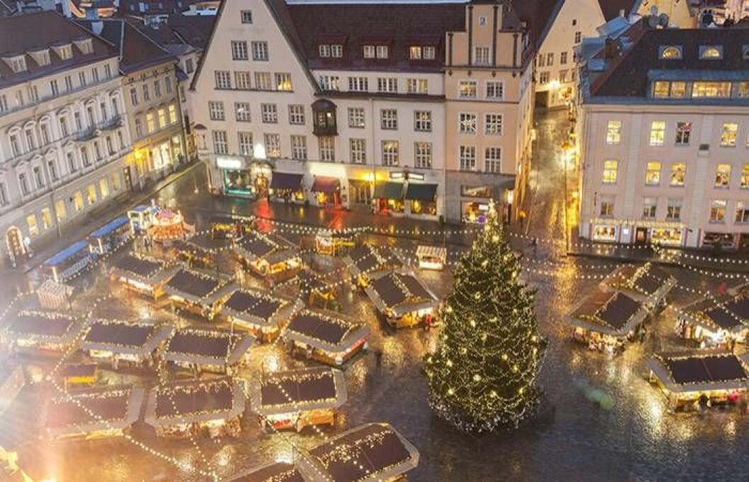Julmarknad i Tallin