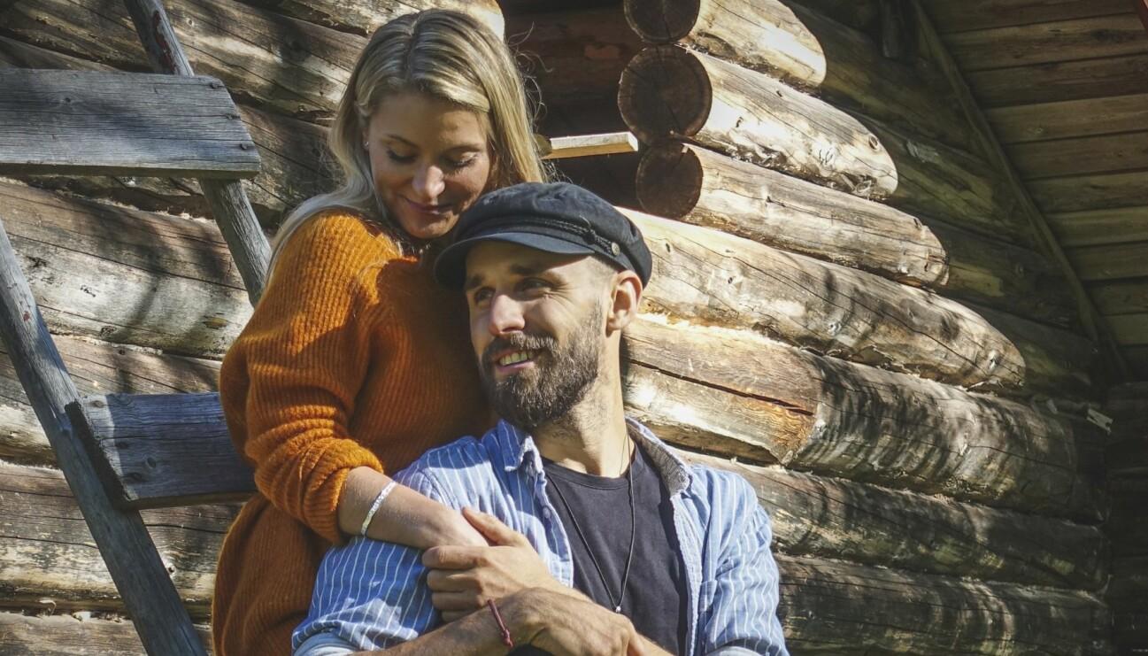 Kalle Flodin fann kärleken och är i dag sambo med Christina Kjaer.