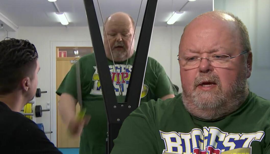 Kalle Moreaus öppnar upp om viktkampen