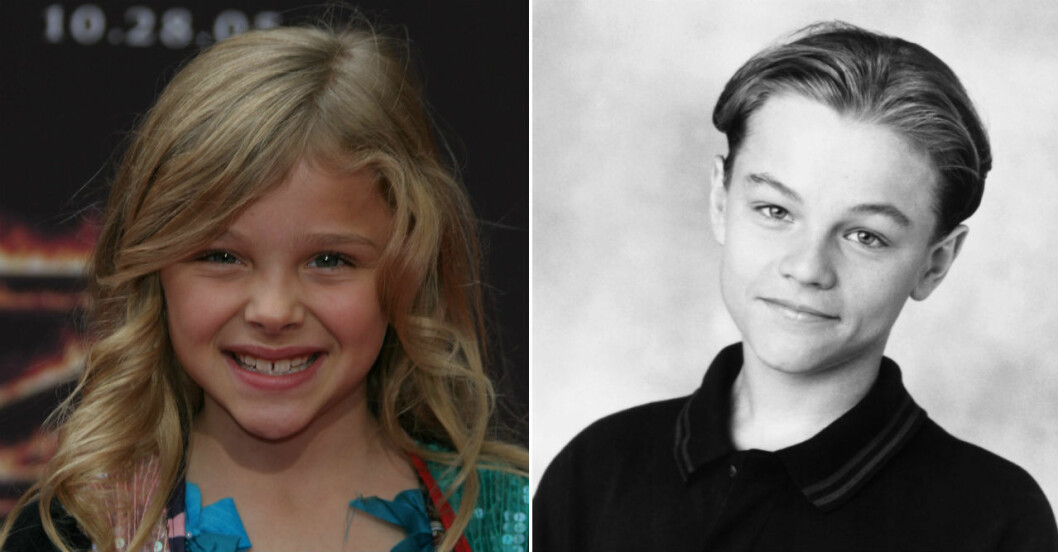 Så såg kändisarna ut som barn.