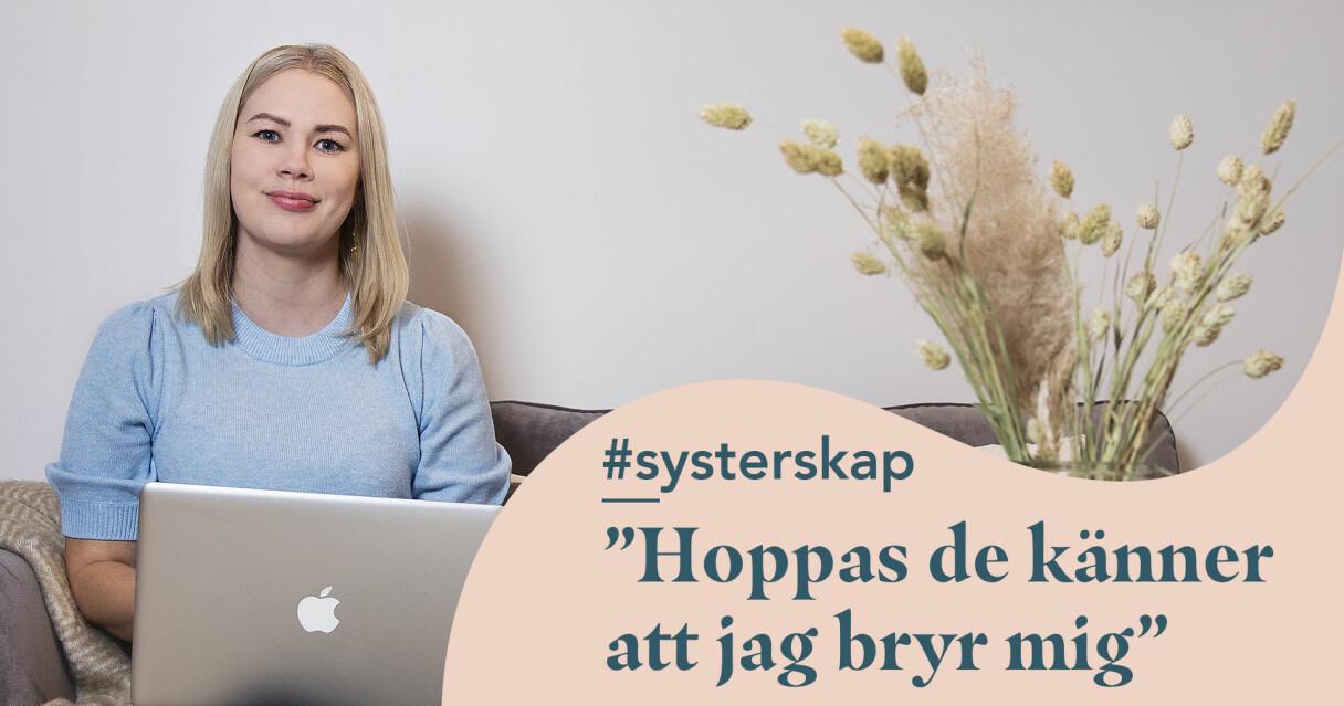 Karin Söderberg jobbar ideellt inom organisationen Tjejzonen. Här är hon fotograferad i hemmet i Stockholm.