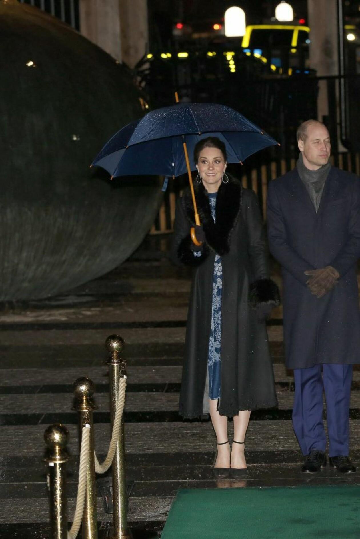 Kate Middleton i kappa från Ida Sjöstedt.