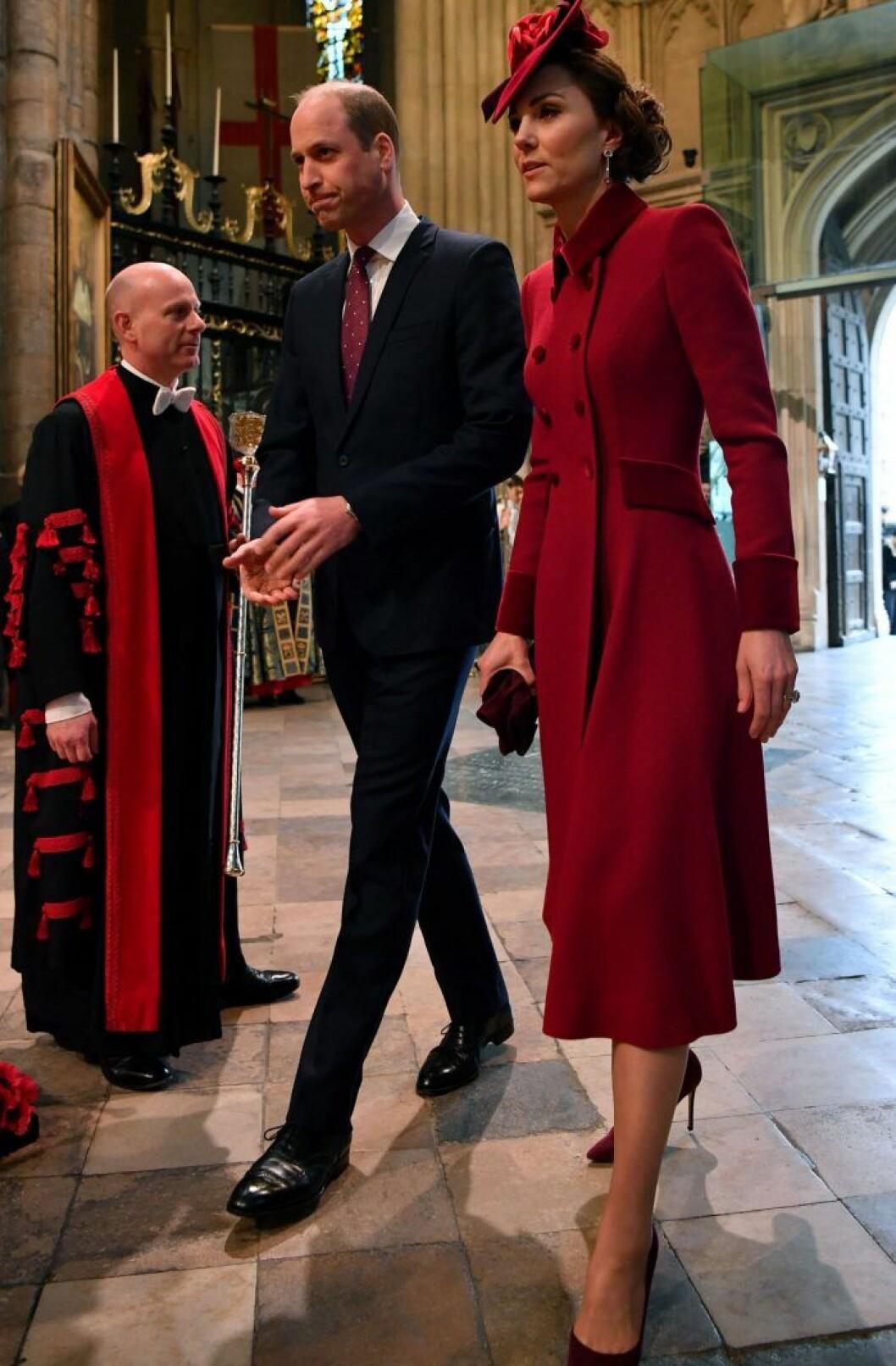 Kate och prins William.