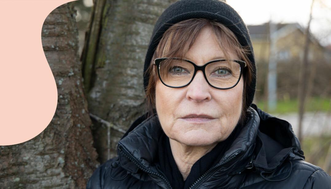Katharina Berggren har levt med förlossningsskador i nära 40 år.