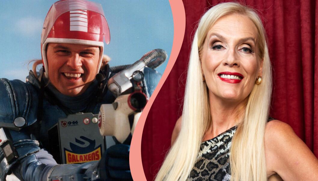 Kenny Starfighter och Gunilla Persson.
