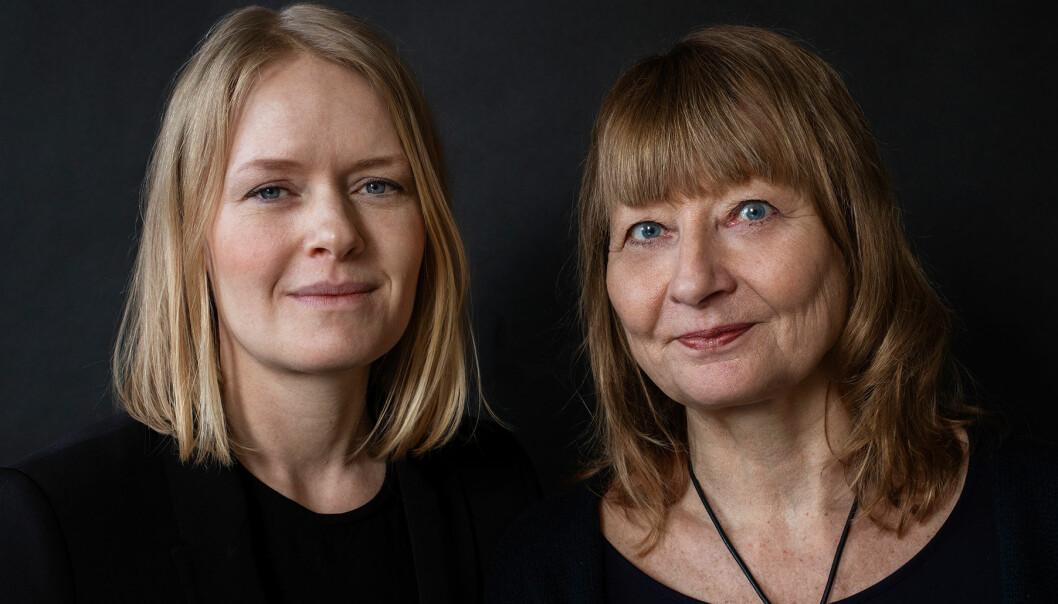 Kerstin Weigl och Kristina Edblom