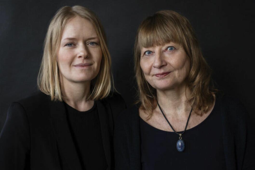 Kerstin Weigl och Kristina Edbloms gör podcasten Dödade kvinnor på Aftonbladet Story
