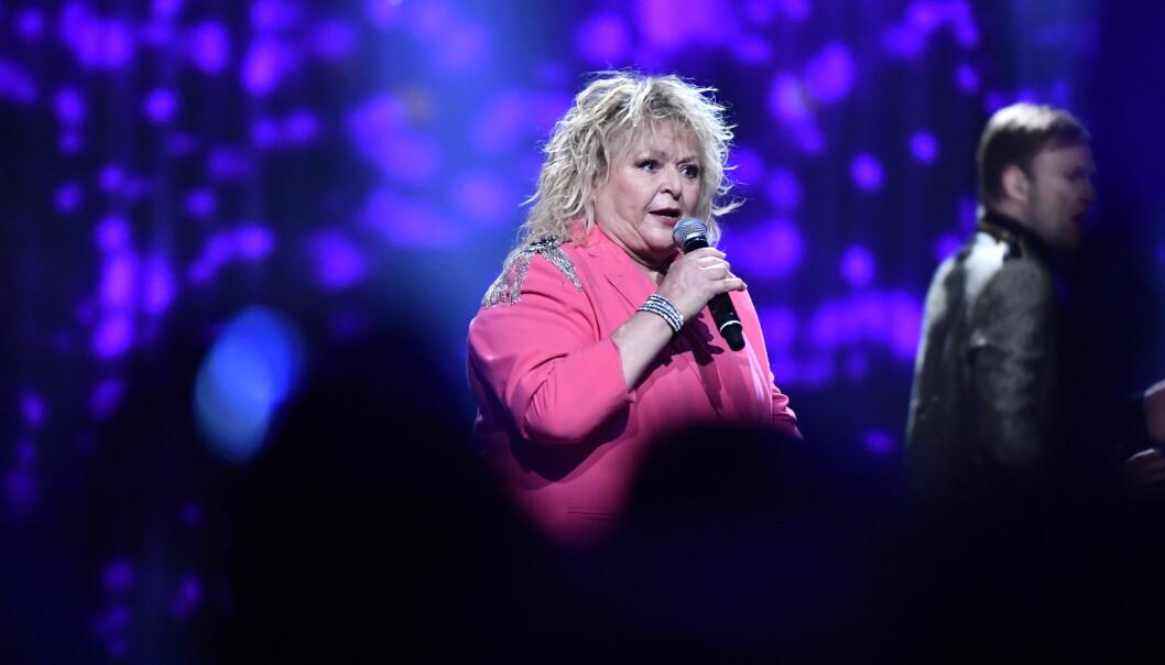 Kikki Danielsson i Melodifestivalen 2020 innan hon insjuknade