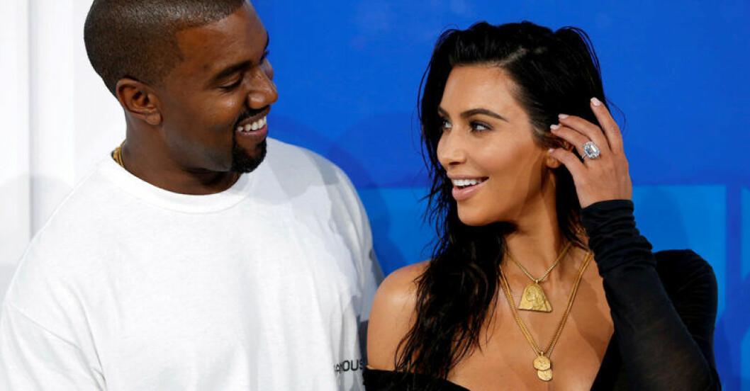 Kim Kardashian och Kanye West