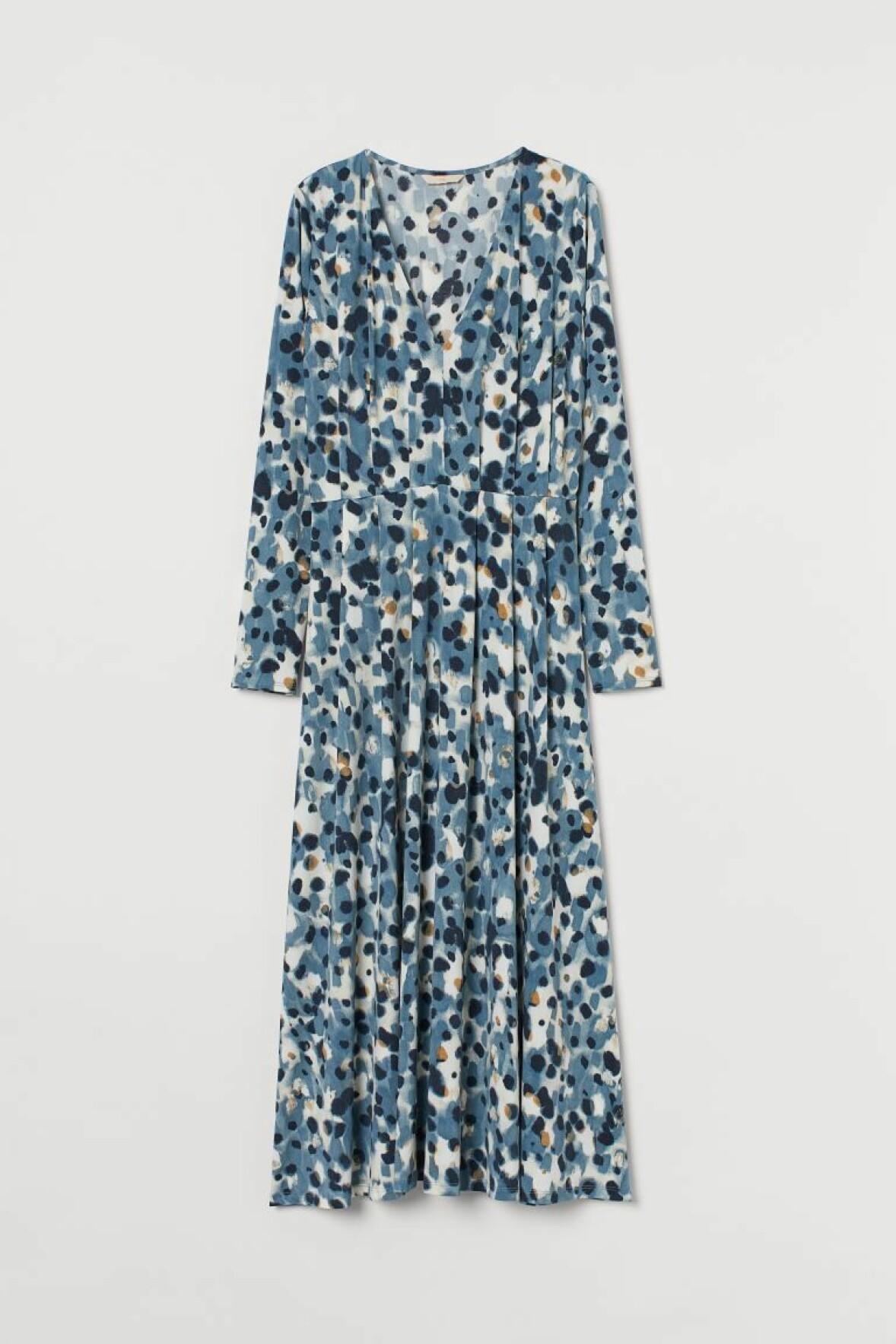 Mönstrad klänning H&M