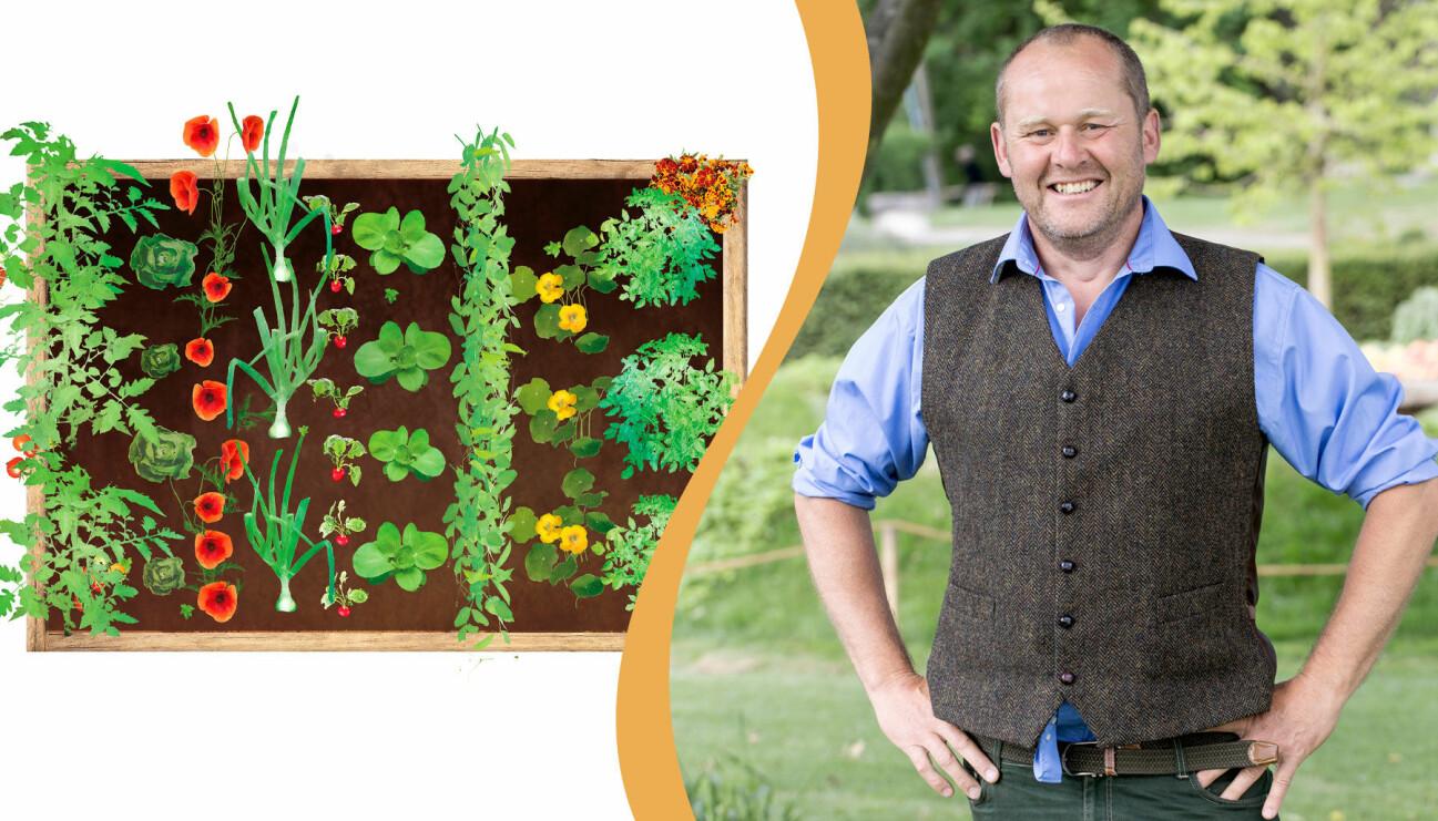 Delad bild. Till vänster: En illustration av John Taylors pallkrage. Till höger: John Taylor.