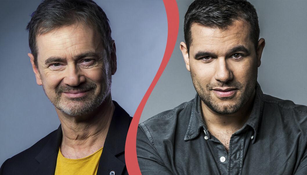 Christer Björkman och Edward af Sillén.