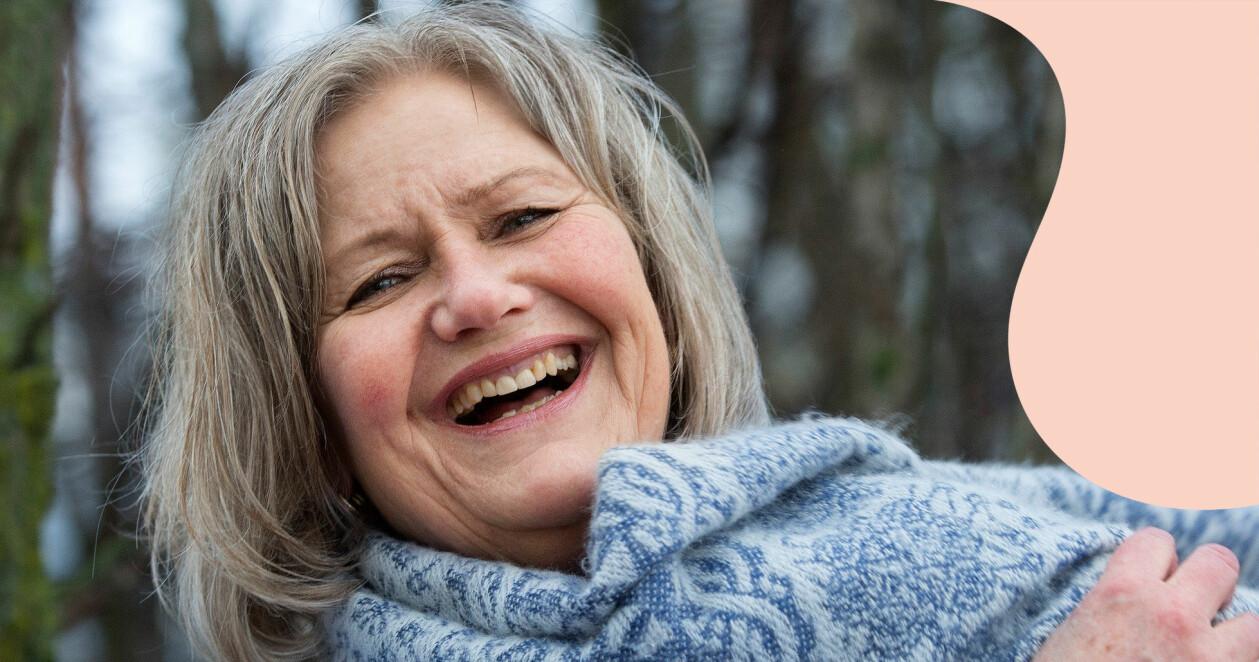 Kristin Reine som var med i en bilolycka som förändrade hela hennes liv.