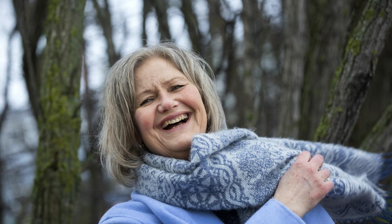 Kristin Reine ser ljust på livet trots många motgångar efter bilolyckan.