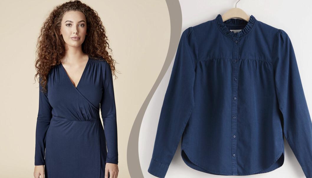 Kungliga blå kläder