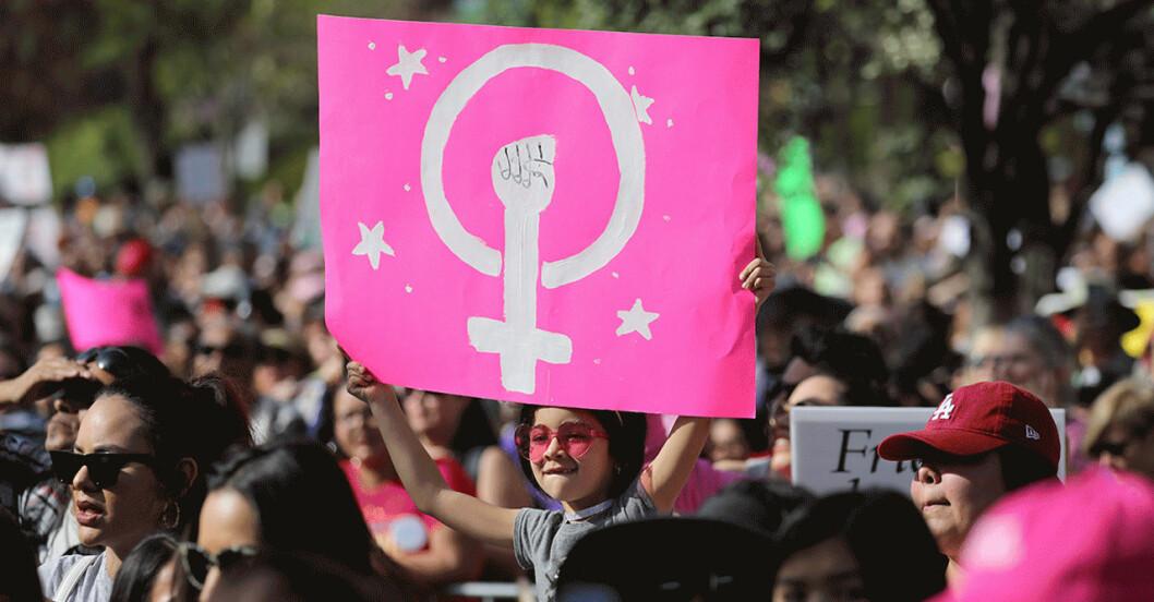 Kvinnodagen demonstration